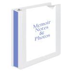 Memoir Notes and Photos Binder