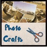 photo crafts - photo wreath
