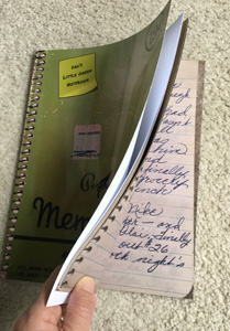 Photo of new old journal