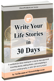 Write Your Life Stories in 30 Days
